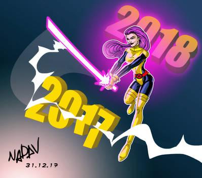 Psylocke - New Year