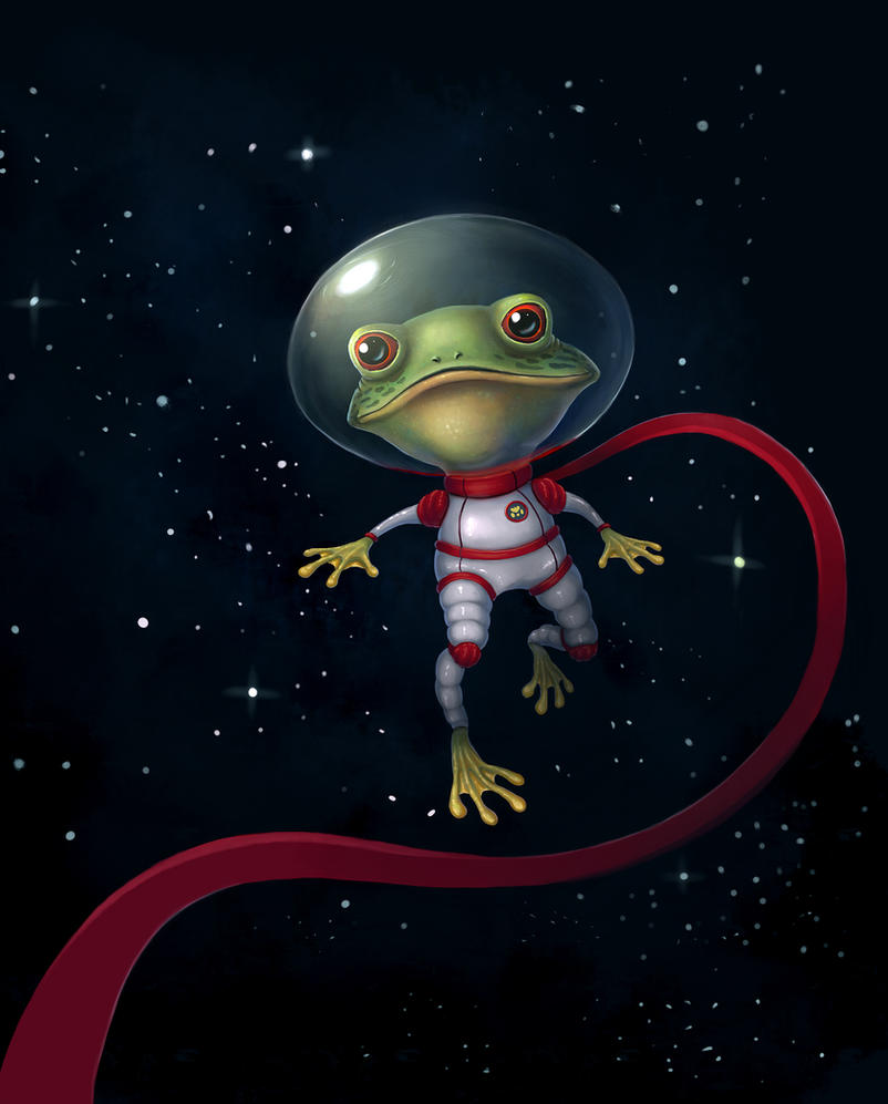 Space Frog by Naphanyah