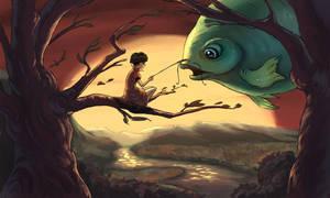 Big Fish by Naphanyah