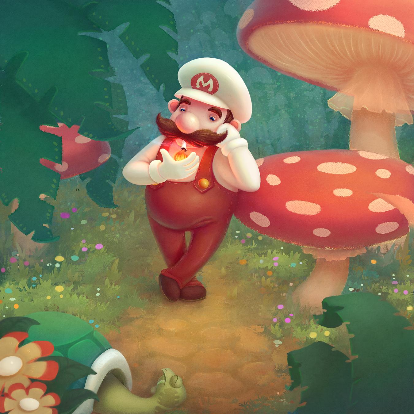 Mario by Naphanyah