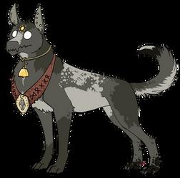 Mysterious Doggo Messenger by Lobotomised