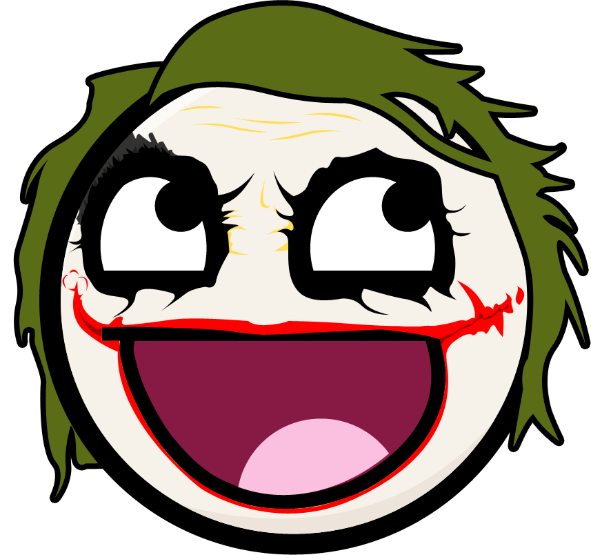 Joker Face Png: The Joker Is AWESOME By Sgt-Spankey On DeviantArt