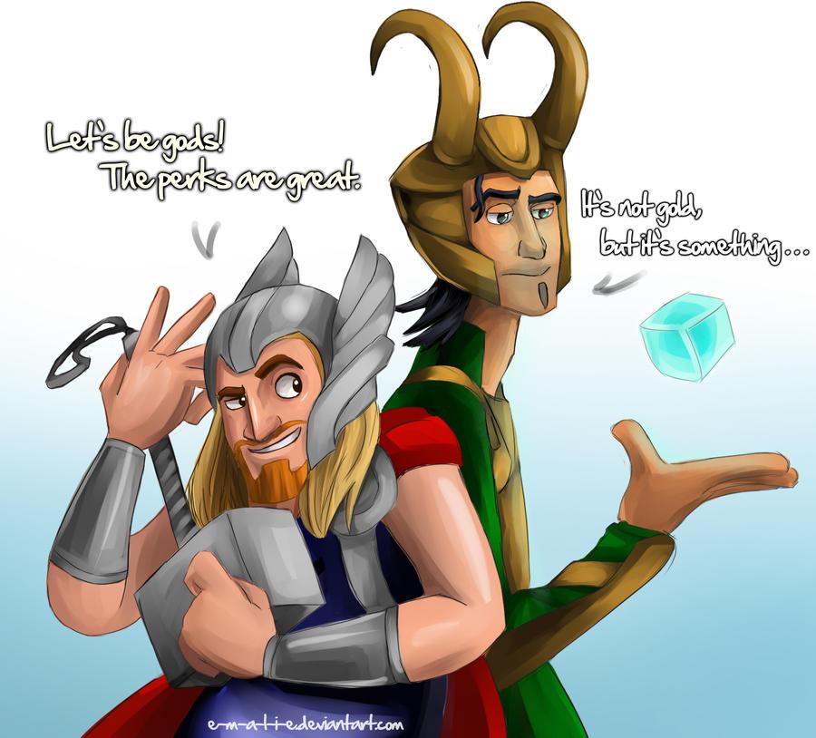 Algunos dioses Nordicos