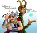 Miguel and Tulio - Asgardians