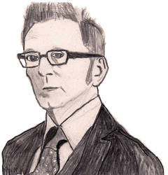 Person Of Interest - Harold Finch by SylvesterMcCoyFan