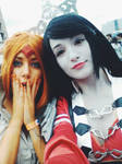 Flame and Marceline Steampunk - Adventure Time