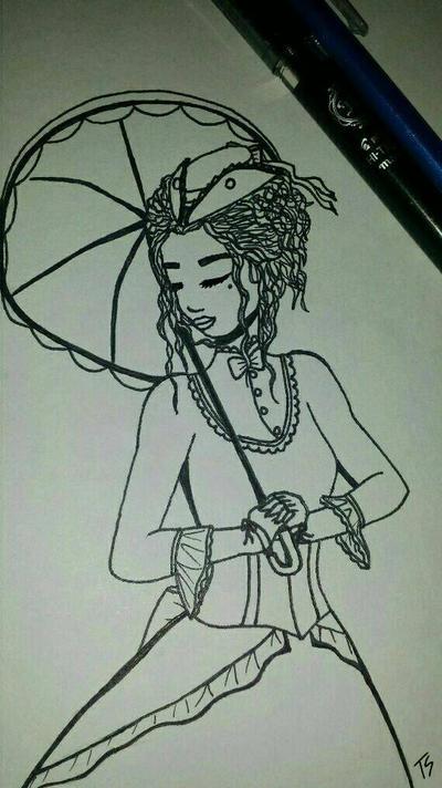 A fair woman by Takis-sama