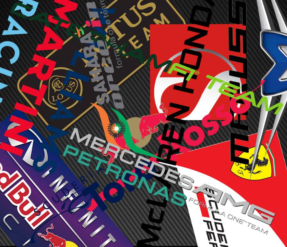 F1 stickerbomb by mona1lisa