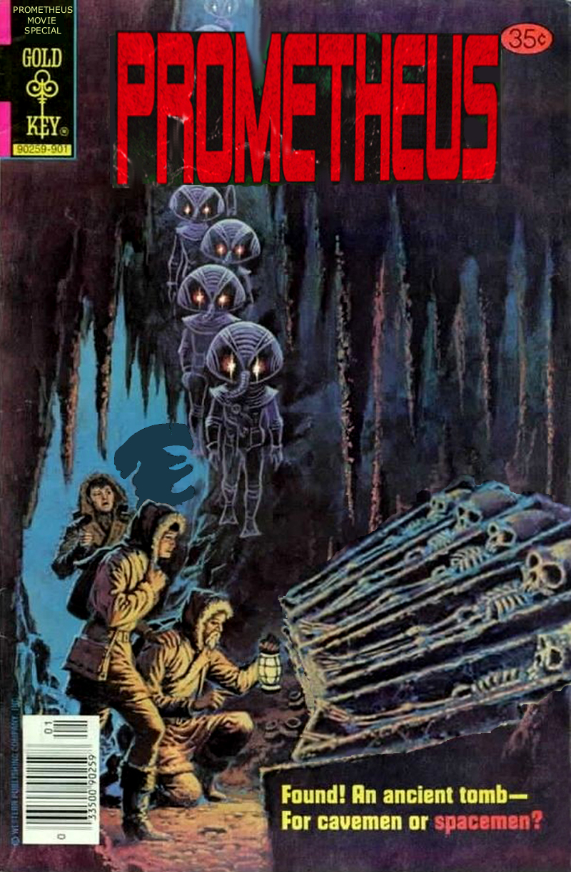 retro prometheus comic cover by doktorkamisama on deviantart. Black Bedroom Furniture Sets. Home Design Ideas