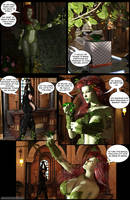 Catwoman and Poison Ivy ENF Mini-comic 3/9 by adventuresinenf