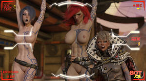 Borderlands - Lilith and Maya, naked hostages by adventuresinenf