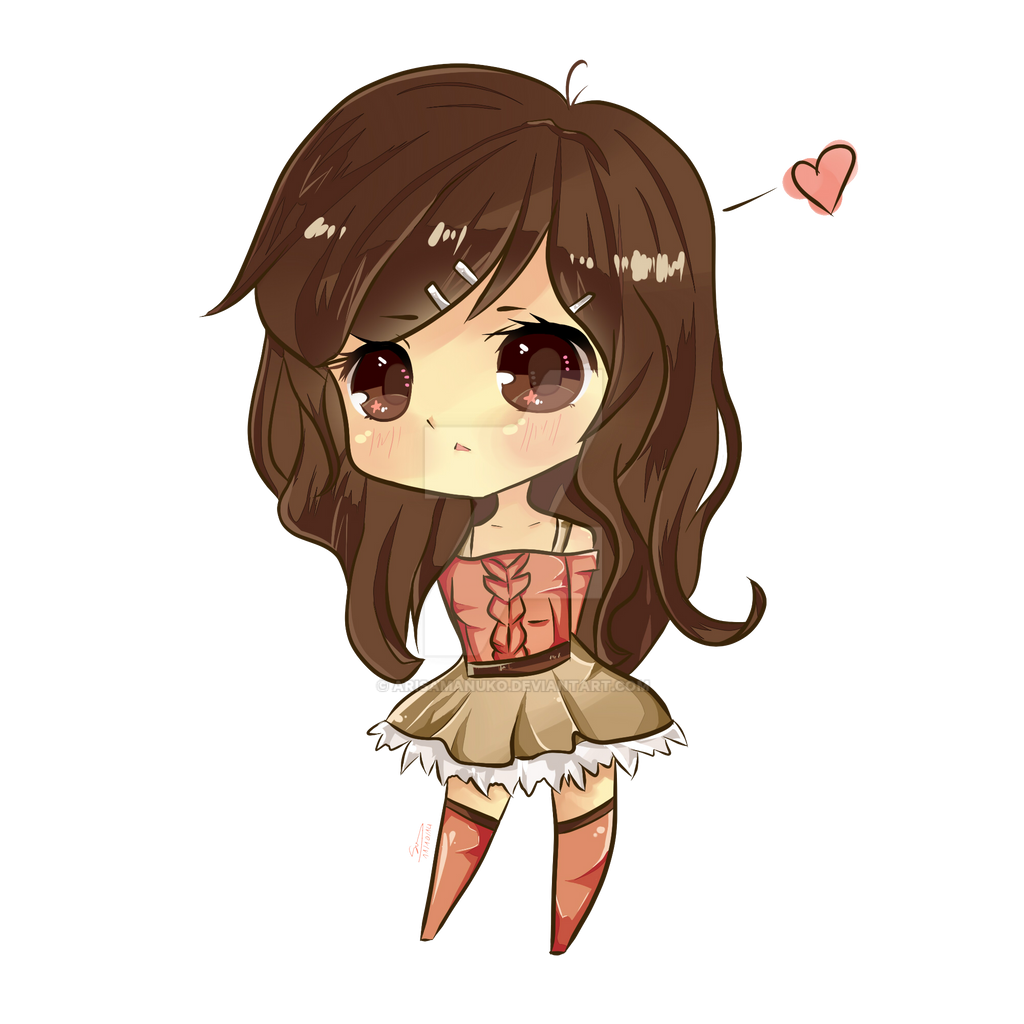 Cute Chibi Girl 487996300