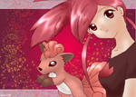 Flannery and Vulpix