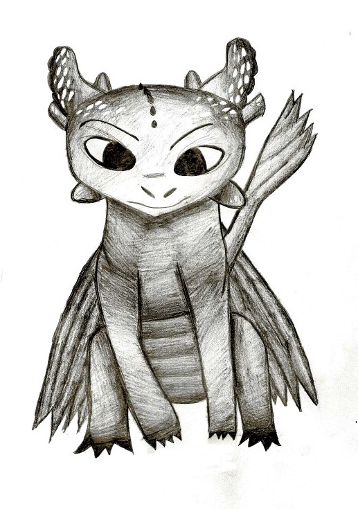 Toothless by janette4211