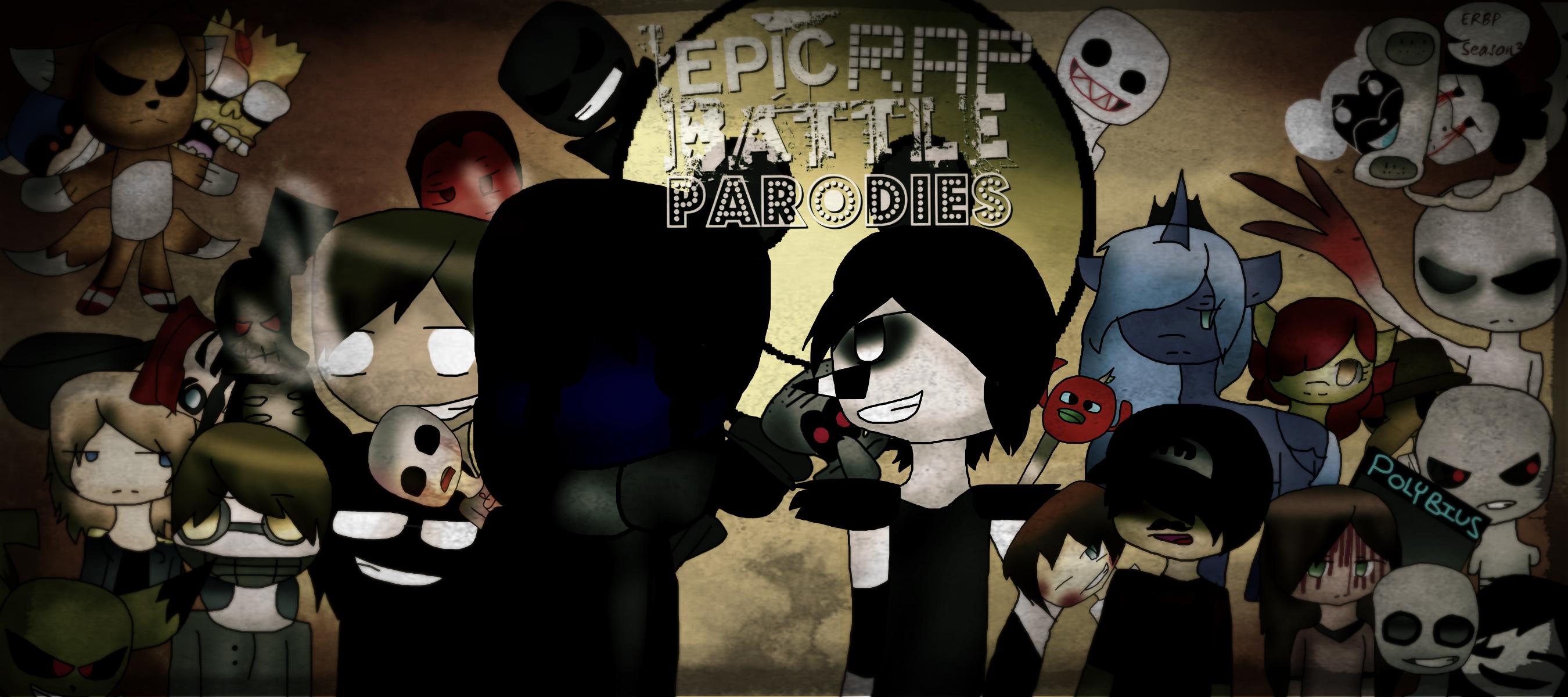 Eyeless Jack vs Laughing Jack Rap Battle Fan Art by Kari4ever