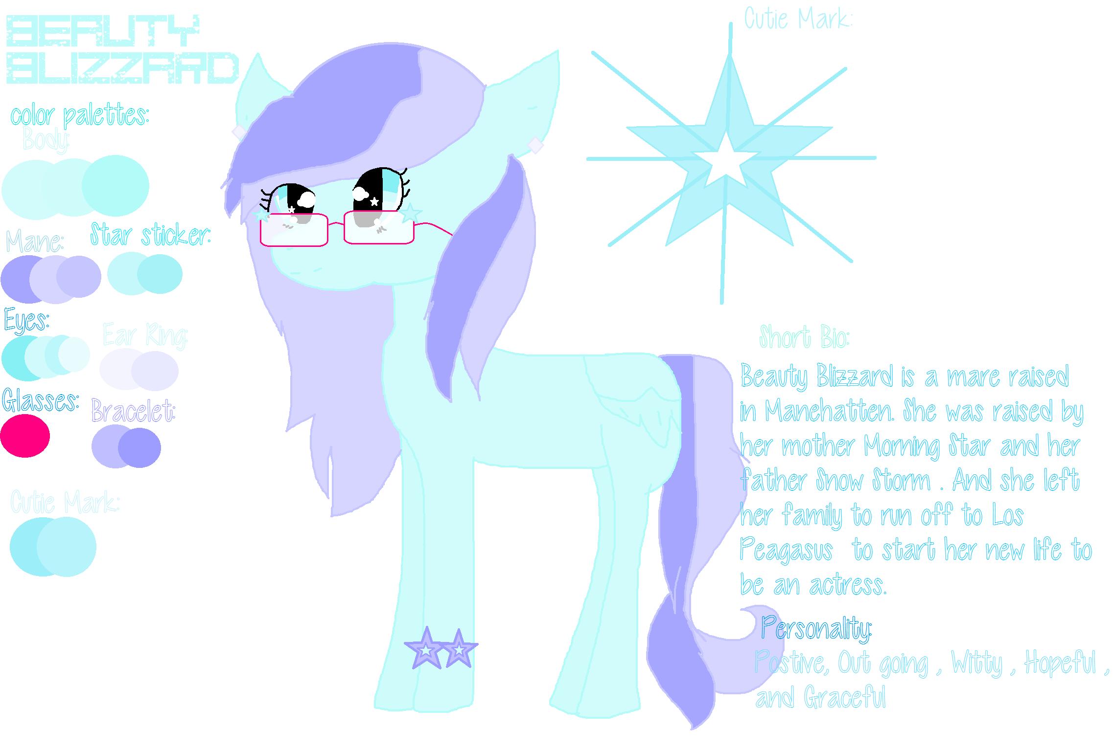 Hey Look an oc pony by Kari4ever