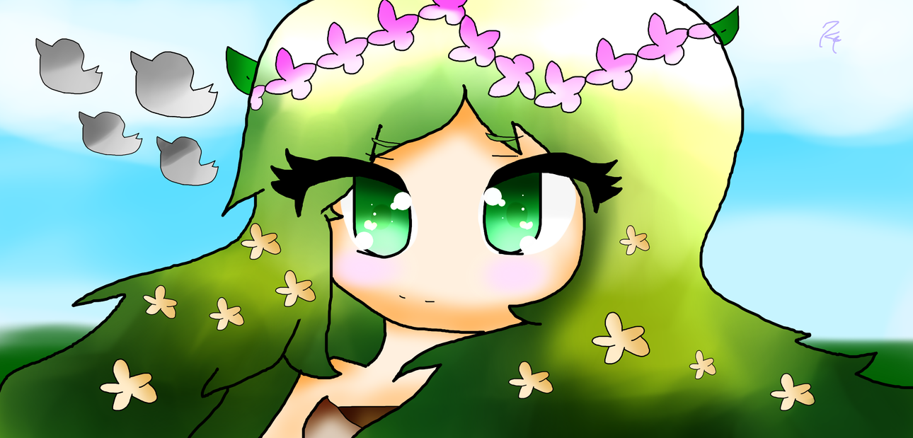 My interpretation of the mother of nature by Kari4ever