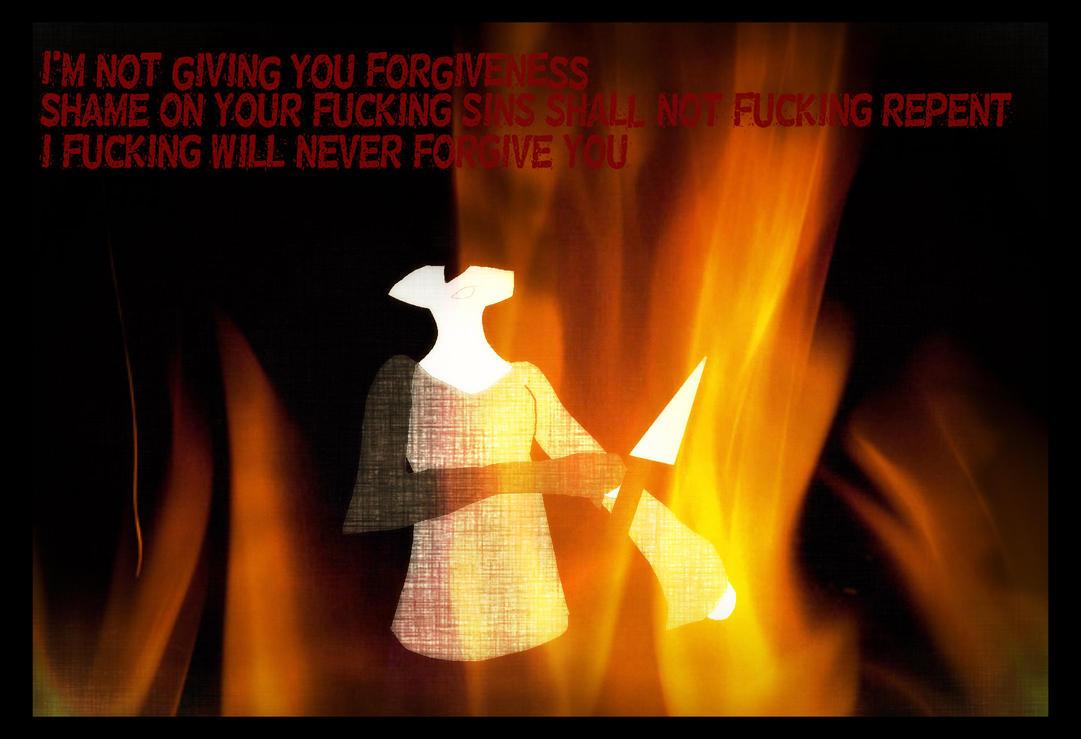 I'm not forgiving you by Kari4ever