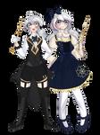 [GENERAL OCs] Jacob and Wilhelmina Grimm