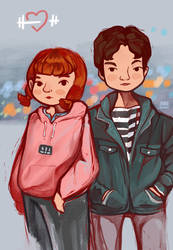 Weightlifting Fairy Kim Bok Joo by JakeRomano