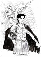 Leonid el centurion by Violette-Kollontai
