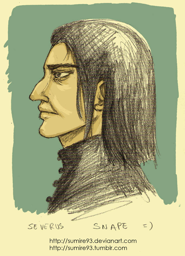 Severus Snape by Violette-Kollontai