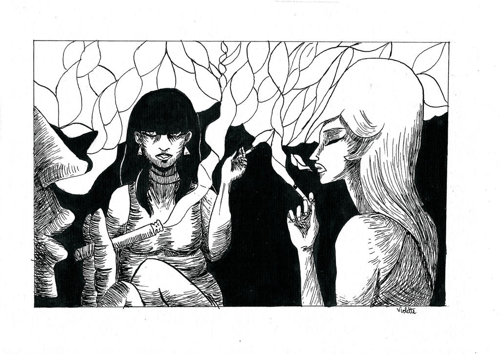 Smoke by Violette-Kollontai