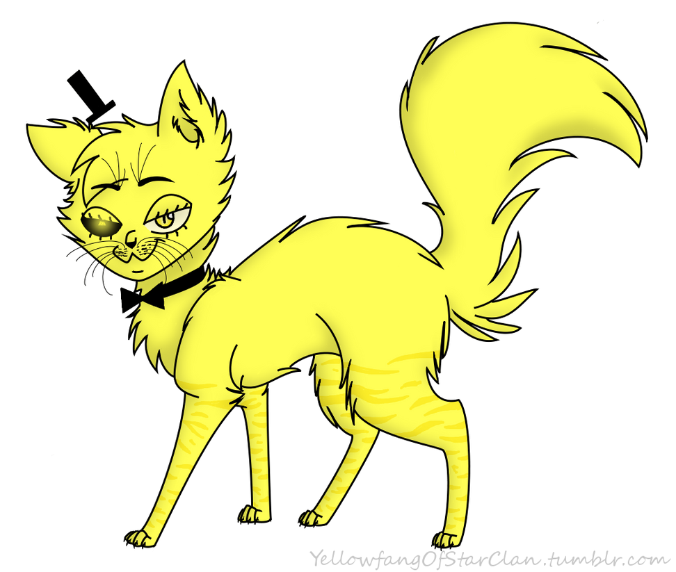 Bill Cipher by YellowfangOfStarclan