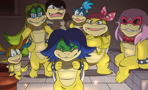 genderbender: Koopalings Parody by Spray-POKA
