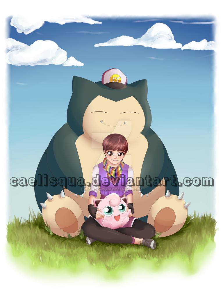 COM - Pokemon Trainer E by Caelisqua