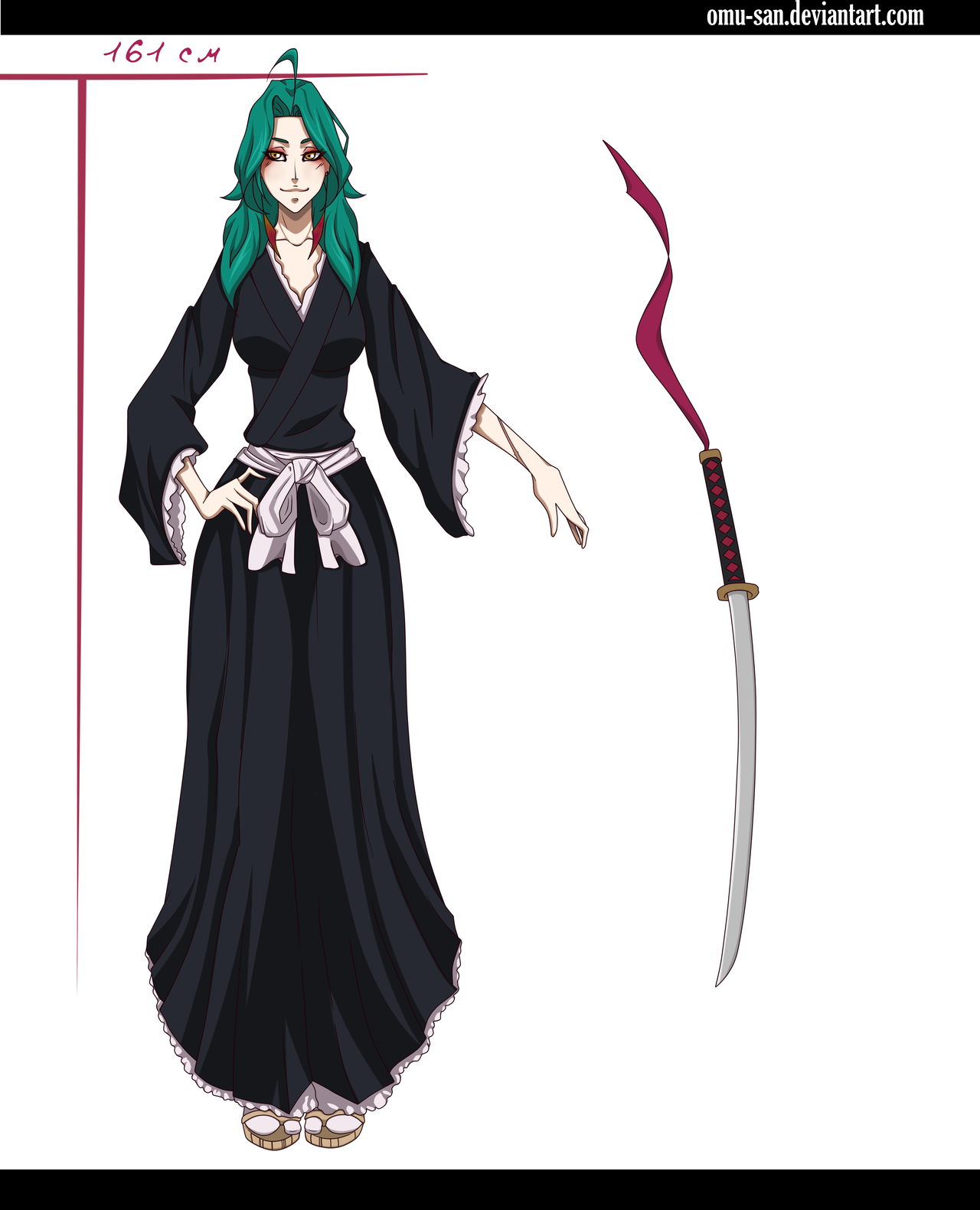 Bleach Oc Arashi By Sickeld160 On Deviantart: OC Bleach By Omu-san On DeviantArt