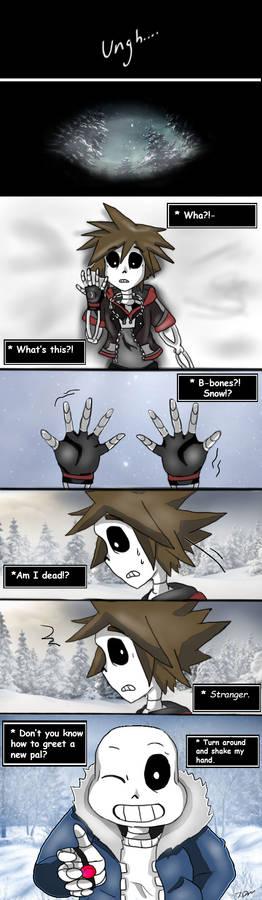 Sora's Undertale adventure