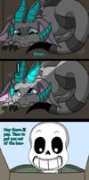 Sans's new pet (page 12)