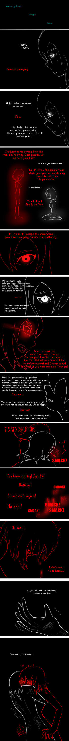Undertale New world (page 94) by joselyn565