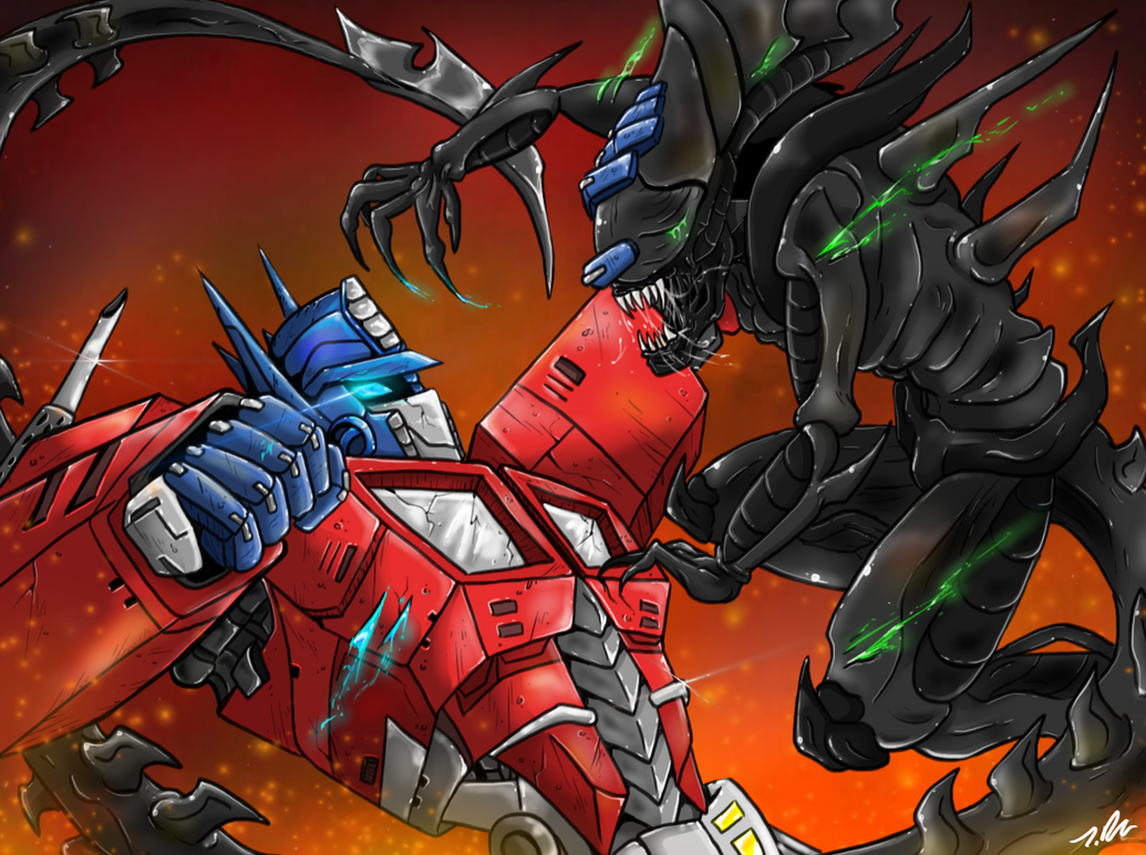 Prime vs The Queen by joselyn565