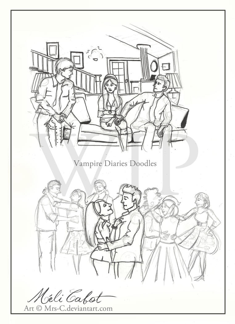 VD doodles - 1x12 - WIP by Mrs-C