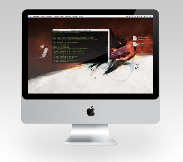 My desktop Sept 09 by falafelkiosken