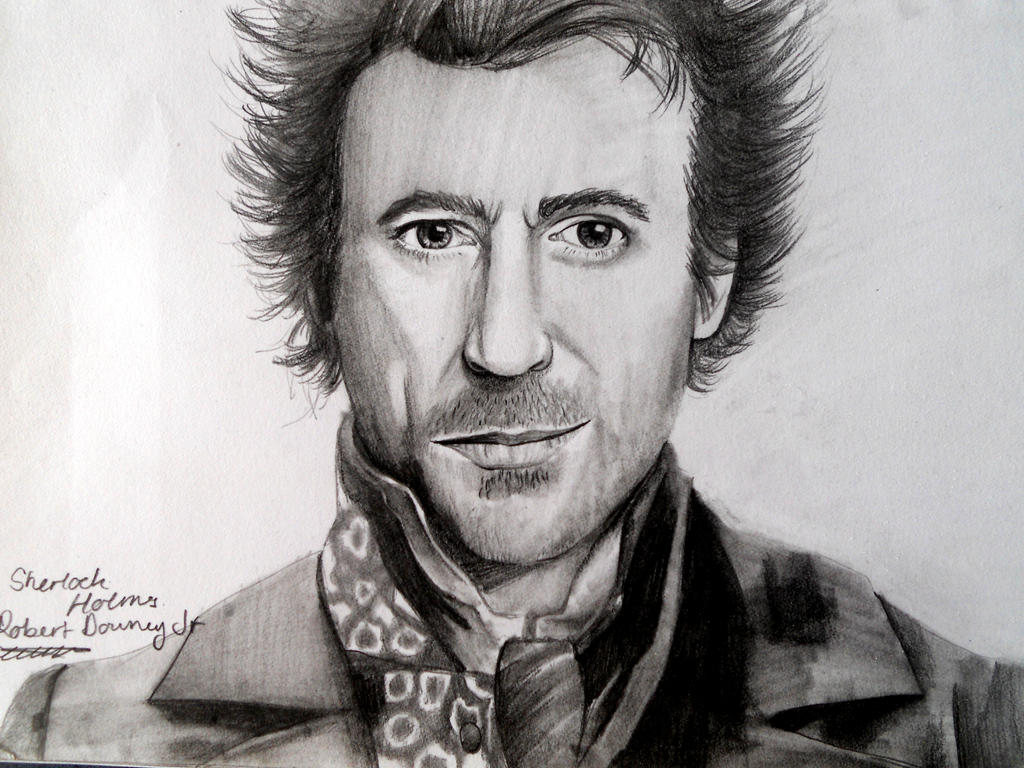 Sherlock Holmes - Robert Downey Jr by Smushed on DeviantArt