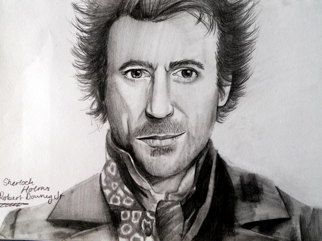 Sherlock Holmes - Robert Downey Jr by Smushed on DeviantArt