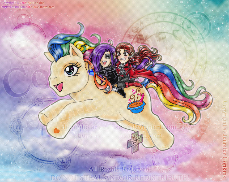 Magick Pony Ride by HotaruThodt
