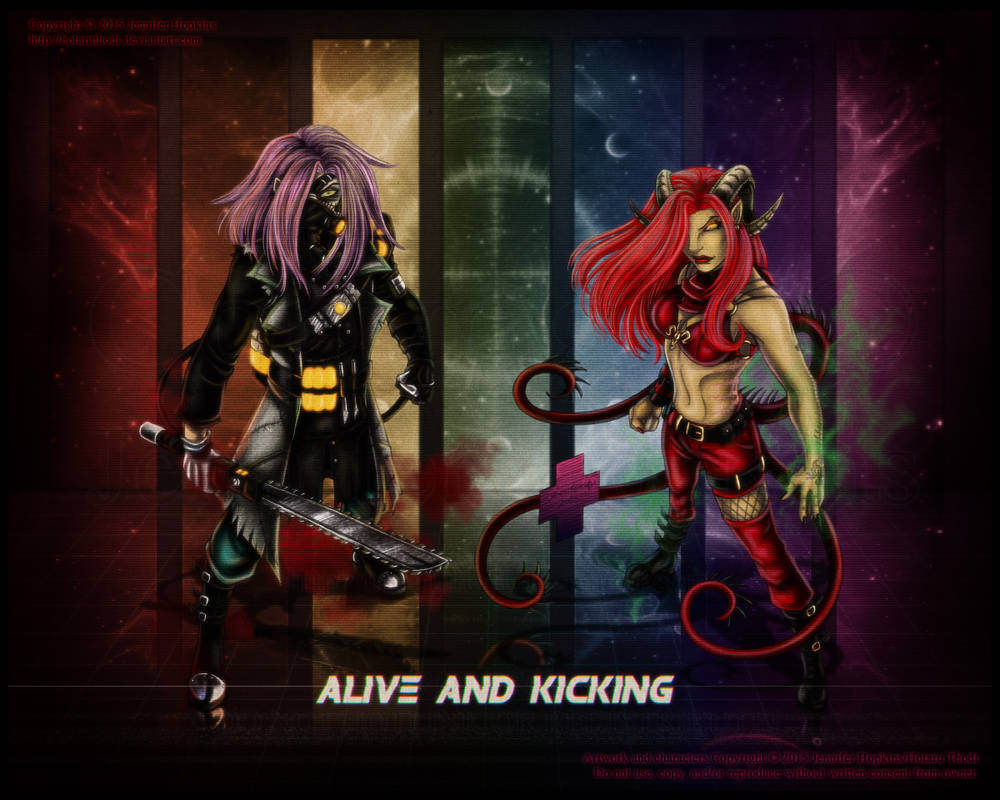 - Alive and Kicking -