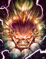 akuma rise of the titan by OscarCelestini