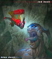 hellboy by OscarCelestini