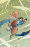 chun li legend by OscarCelestini