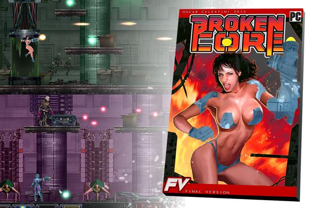 Broken core PC videogame by OscarCelestini