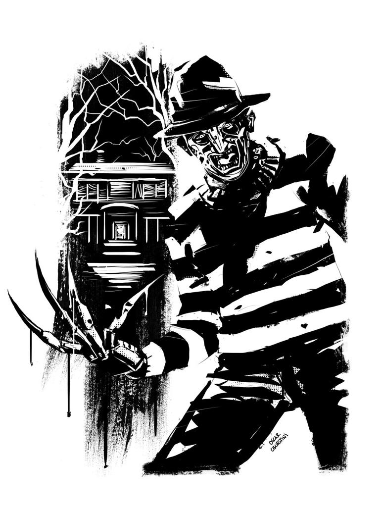 Freddy Krueger by OscarCelestini
