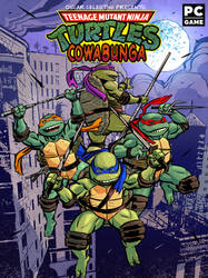 Teenage mutant ninja turtles cowabunga by OscarCelestini