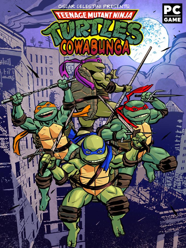 Teenage mutant ninja turtles cowabunga by OscarCelestini