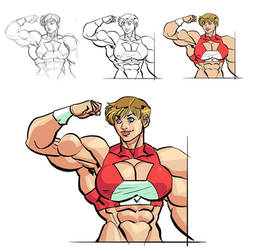 MUSCLE GIRLS my patreon page! by OscarCelestini