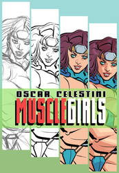 MUSCLE GIRLS my patreon page promo! by OscarCelestini